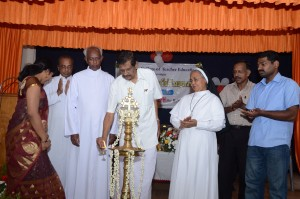 Hon: Minister for Irrigation Sri. P.J. Joseph inaugurated the workshop